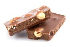 l'obscurité de chocolat rapièce deux Photos libres de droits