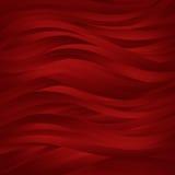 L'obscurité rouge ondule le fond Image stock