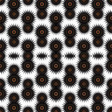 L'obscurité abstraite se tient le premier rôle sur une illustration blanche de vecteur de fond Photo stock