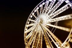 L'observation de Ferris roulent dedans la vieille ville de la Pologne Danzig Images stock
