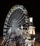 L'observation roulent dedans Kiev, Ukraine image stock