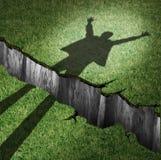 l'obstacle surmontent illustration stock