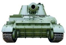 l'obusier d'artillerie blindée a actionné l'individu Photo libre de droits