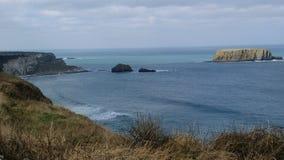 L'Océan Atlantique du côté du nord de la république d'Irlande Images libres de droits