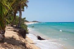 L'Océan Atlantique et côte du nord du Porto Rico Photos libres de droits