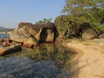 L'Océan Indien Photo stock