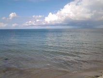 l'océan luttent Photographie stock libre de droits