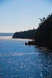 L'océan pacifique Images libres de droits