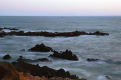 L'océan pacifique Cambria, la Californie Photos stock