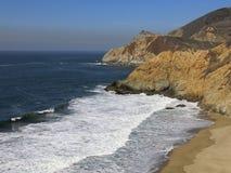 L'océan pacifique chez Big Sur Photographie stock libre de droits