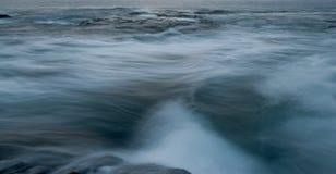 L'océan pacifique chez Kona, Hawaï Image stock