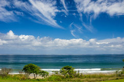 L'océan pacifique chez Plata Mita Mexico Images stock