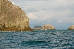 L'océan pacifique du Costa Rica Photos libres de droits