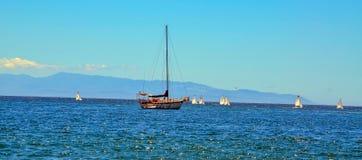 L'océan pacifique, la Californie Photo libre de droits
