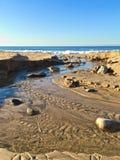 L'océan pacifique la Californie Photo stock