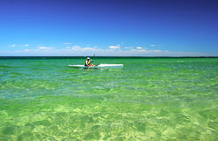 L'océan pacifique, port Phillip Bay Photos libres de droits