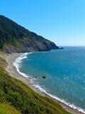 L'océan pacifique Shoreline, côte de l'Orégon Images libres de droits