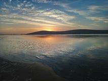 L'océan Sunset photo stock