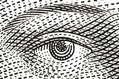 L'occhio Fotografie Stock Libere da Diritti