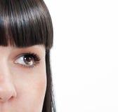 L'occhio della femmina Fotografia Stock