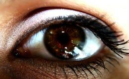 L'occhio dello spettatore immagine stock