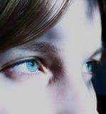 L'occhio dello spettatore Fotografia Stock