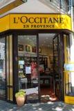 L ` Occitane商店 免版税库存图片