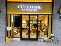 L ` Occitane商店 库存照片