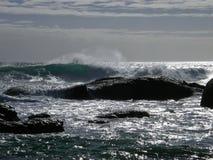 L'Oceano Atlantico, area della spiaggia della baia dei campi Fotografie Stock