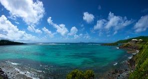 L'Oceano Atlantico da Bequia Fotografia Stock