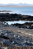 L'Oceano Atlantico osservato in Islanda Fotografia Stock