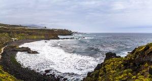 L'Oceano Atlantico, Tenerife fotografia stock libera da diritti