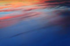 L'oceano celeste Fotografia Stock Libera da Diritti
