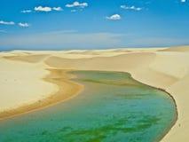 L'oceano del paesaggio del mare della spiaggia fotografia stock