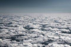 L'oceano delle nubi. Immagine Stock Libera da Diritti