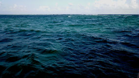 L'oceano di Cancun Fotografia Stock
