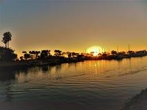 L'oceano e la bella spiaggia in Dana Point CA, U.S.A. immagine stock