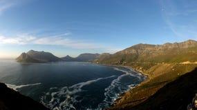 L'oceano incontra la terra Fotografia Stock