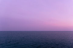 L'oceano in Santa Cruz California Fotografia Stock Libera da Diritti