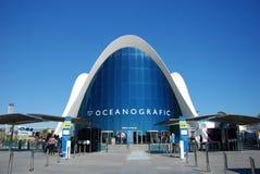 l'Oceanografic, Valence. Image libre de droits