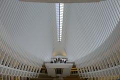 L'Oculus au NYC Freedom Tower Photographie stock libre de droits