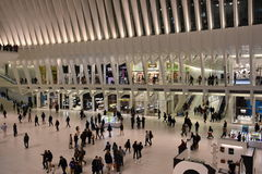 L'Oculus du hub de transport de World Trade Center de Westfield à New York photos stock
