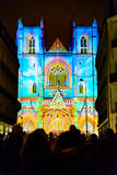 L`Odyssée des Rêves sound and light show in Nantes Royalty Free Stock Image