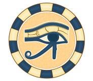 L'oeil de Horus illustration de vecteur