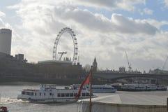 L'oeil de la Tamise et de Londres, Londres Image libre de droits