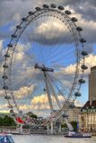 L'oeil de Londres Photos libres de droits