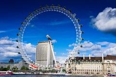 L'oeil de Londres Image libre de droits