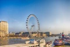 L'oeil de Londres - Londres, Royaume-Uni Images stock