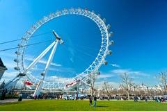 L'oeil de Londres, R-U Photographie stock