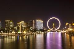 L'oeil de Tianjin images stock